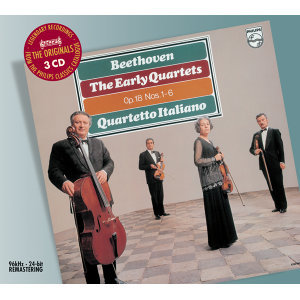 Beethoven: The Early String Quartets - 3 CDs