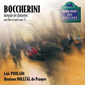 Boccherini-6 quintettes pour flute & quatuor a cordes op.55