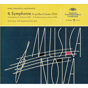 Hartmann: Symphony No.6 / Blacher: Paganini Variations
