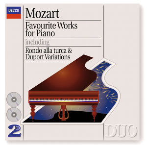 Mozart: Favourite Works for Piano - 2 CDs