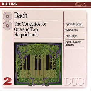 Bach, J.S.: The Concertos for One and Two Harpsichords - 2 CDs