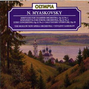 Myaskovsky: Serenade, Sinfonietta, Concertino Op.32