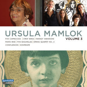 Music of Ursula Mamlok, Vol. 3