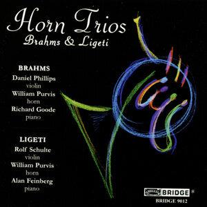 Brahms, Ligeti Horn Trios