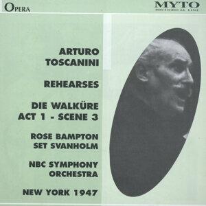 "Arturo Toscanini Rehearses ""Die Walküre"" Act 1 - Scene 3"