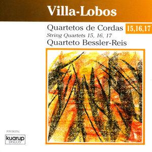 Villa-Lobos: String Quartets 15, 16, 17