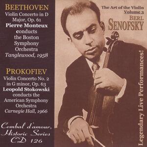Berl Senofsky, Violin