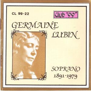 Germaine Lubin, Soprano 1891 - 1967