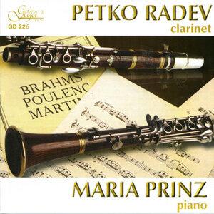 PETKO RADEV - clarinet & MARIA PRINZ - piano