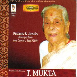Sangita Kala Acharya T. Mukta