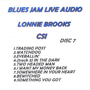 Blues Jam Live Audio: Lonnie Brooks
