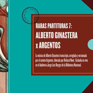 Raras Partituras 7 - Alberto Ginastera
