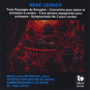 René Gerber: Trois paysages de Breughel & Other Orchestral Works