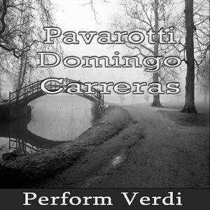Pavarotti - Domingo - Carreras Perform Verdi