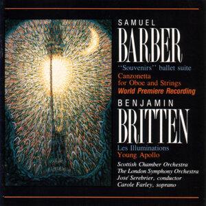 Samuel Barber: Canzonetta /Benjamin Britten: Les Illuminations / Young Apollo