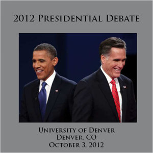 The Presidential Debate #1 - 10/3/2012