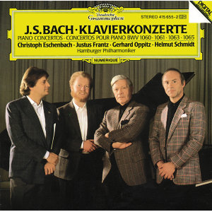 Bach, J.S.: Piano Concertos BWV 1060, 1061, 1063 & 1065