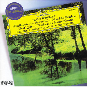 """Schubert: Piano Quintet """"The Trout""""; String Quartet """"Death and the Maiden"""""""