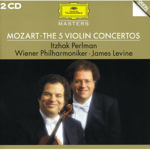 Mozart: The 5 Violin Concertos - 2 CD's