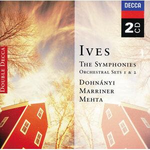 Ives: Symphonies Nos 1-4; Orchestral Sets Nos.1-2 - 2 CDs