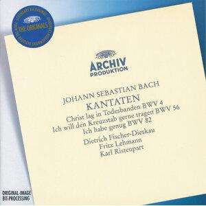 """Bach, J.S.: Cantatas """"Christ lag in Todesbanden"""", """"Ich will den Kreuzstab gerne tragen"""" & """"Ich habe genug"""""""
