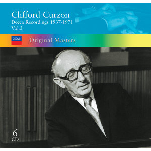 Clifford Curzon: Decca Recordings 1937-1971 Vol.3 - 6 CDs
