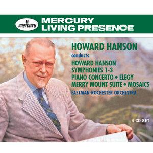 Howard Hanson conducts Howard Hanson - 4 CDs
