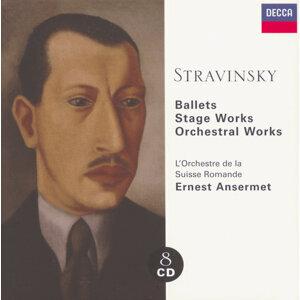 Stravinsky: Ballets/Stage Works/Orchestral Works - 8 CDs