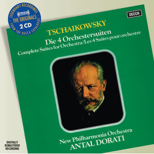 Tchaikovsky: Four Suites for Orchestra - 2 CDs