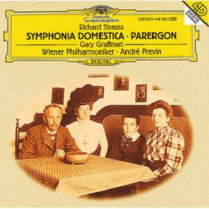 R. Strauss: Symphonia Domestica, Op.53; Parergon zur Symphonia Domestica, Op.73 (  R.シュトラウス:家庭交響曲、家庭交響曲余録)