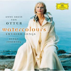 水彩画/スウェーデン歌曲集 (Watercolours . Swedish Songs)