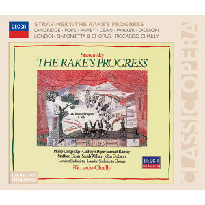 Stravinsky: The Rake's Progress - 2 CDs