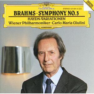 Brahms: Symphony No.3; Haydn-Variations