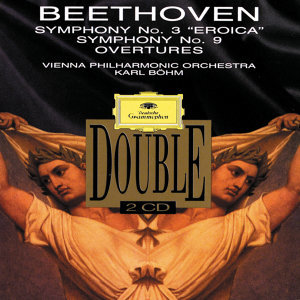 "Beethoven: Symphonies Nos.3 ""Eroica"" & 9 ""Choral""; Overtures - 2 CDs"