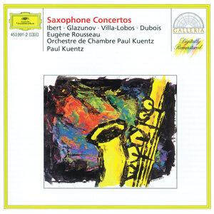 Ibert / Glazunov / Villa-Lobos / Dubois: Saxophone Concertos