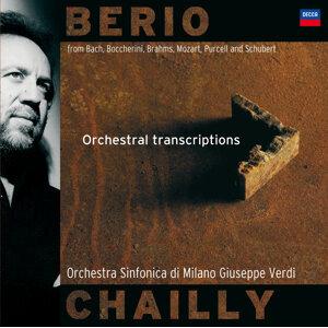 ベリオ:トランスクリプションズ (Luciano Berio / Trascrizioni orchestrali)