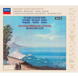Mozart: Cosi fan tutte - 3 CDs