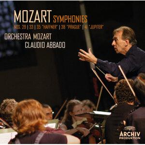 """Mozart: Symphonies Nos. 29, K.201; 33, K.319; 35, K.385 """"Haffner""""; 38, K.504 """"Prague""""; 41, K.551 """"Jupiter"""" - Live"""