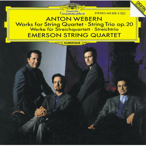 Webern: Works for String Quartet; String Trio Op.20