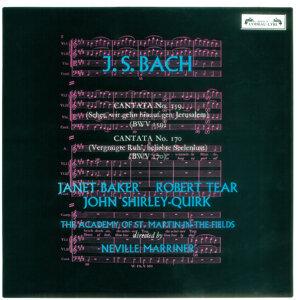 Bach, J.S.: Cantatas Nos. 159 & 170