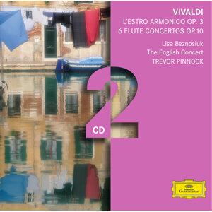 Vivaldi: L'estro armonico; 6 Flute Concertos - 2 CD's