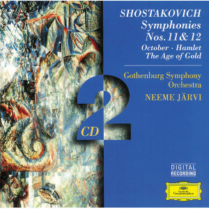 Shostakovich: Symphonies Nos. 11 & 12; October; Hamlet; The Age of Gold - 2 CDs