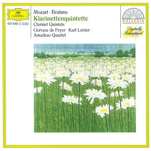 Mozart: Clarinet Quintet K.581 / Brahms: Clarinet Quintet In B Minor, Op. 115