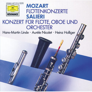 Mozart: Flute Concertos; Salieri: Concerto for Flute and Orchestra