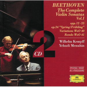 Beethoven: The Complete Violin Sonatas Vol.I - 2 CD's