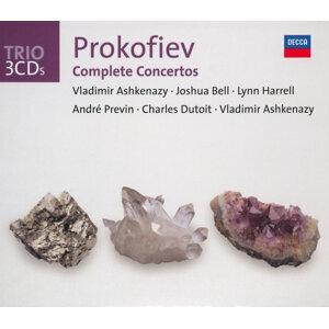 Prokofiev: The Piano Concertos/Violin Concertos etc - 3 CDs