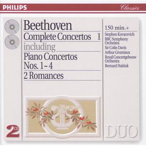 Beethoven: Complete Concertos Vol.1 - Piano Concertos Nos.1 - 4 etc. - 2 CDs