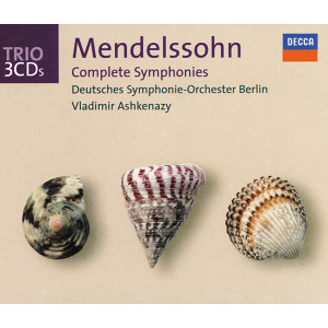 Mendelssohn: Symphonies Nos.1-5 - 3 CDs
