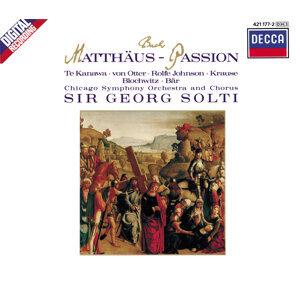 Bach, J.S.: St. Matthew Passion BWV 244 - 3 CDs