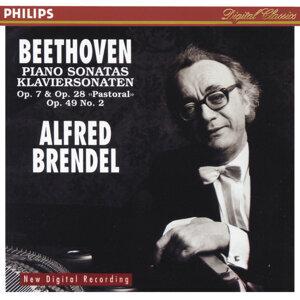"Beethoven: Piano Sonatas Opp.7 & 28 ""Pastoral"" & 49 No.2"